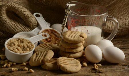 Peanut Butter Sandwich - peanut butter and eggs
