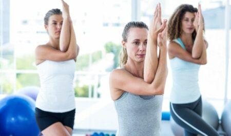 Standing Yoga Poses - Eagle Pose