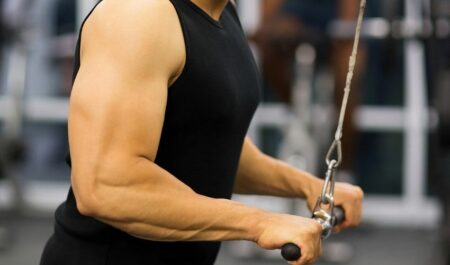 Tricep Pull Downs - Pull Down Bar
