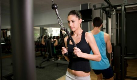 Tricep Pull Downs - Pull Downs Grils
