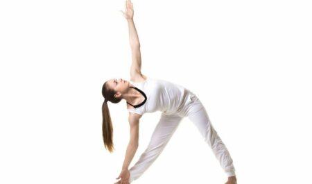 Standing Yoga Poses - Trikonasana poses