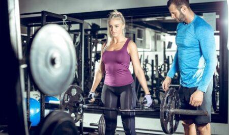 Trap Bar Deadlifts - lift heavier weight