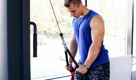 Tricep Pull Downs - Pull Down Workout