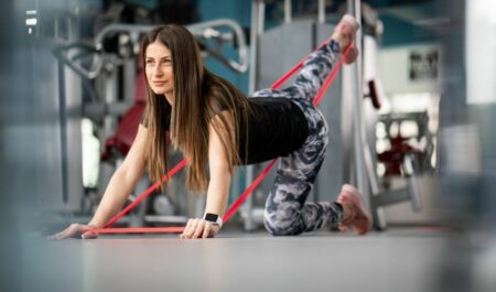Hamstring Physical Therapy Exercises - resistance band exercise