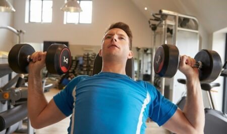 Incline Dumbbell Bench Press Angle - Age group