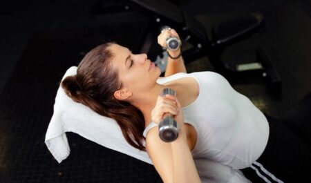 Incline Dumbbell Bench Press Angle - Dumbbell Press Workouts