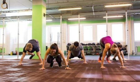 Male Body Types - burpees