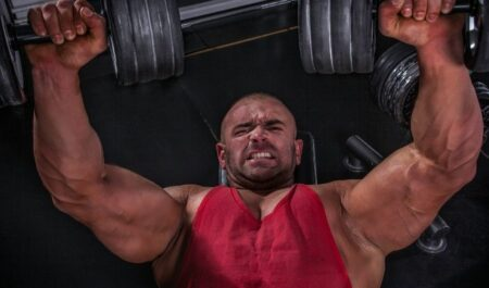Wide Grip Bench Press - muscle improvement