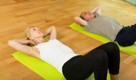 Core Exercises For Women Over 50 - Exercises for Senior Women