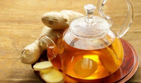 Best Tea For Sore Throat - Ginger Tea