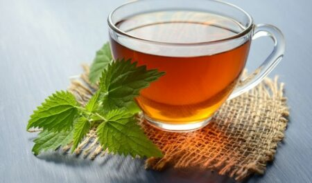Best Tea For Sore Throat - Peppermint Tea