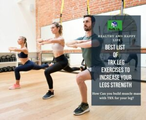 TRX Leg Exercises