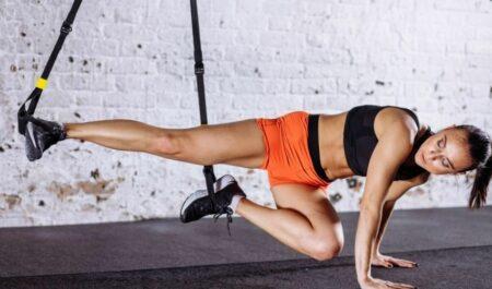 TRX Leg Exercises - TRX Leg HIIT Exercises