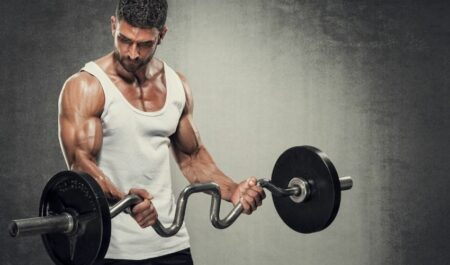 One Arm Cable Curl - Barbell Curl