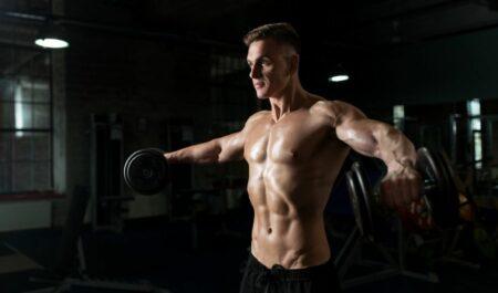 Best Rear Delt Exercises - Dumbbell Side Lateral Raise
