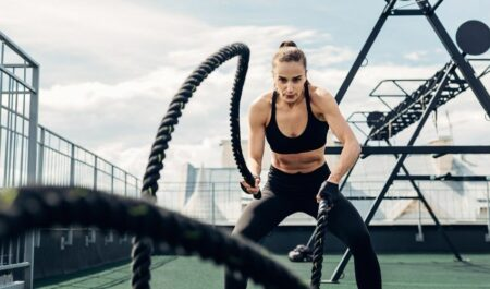 Battle Rope - Upper Body Muscles