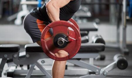 Back And Bicep Workout - barbell workouts