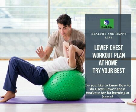 Lower Chest Workout At Home