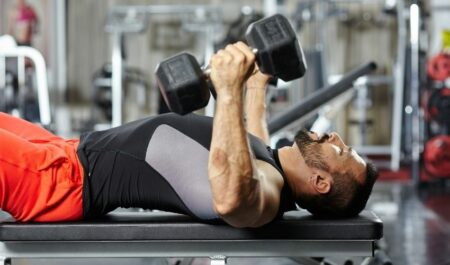 Lower Chest Workout At Home - dumbbell workouts