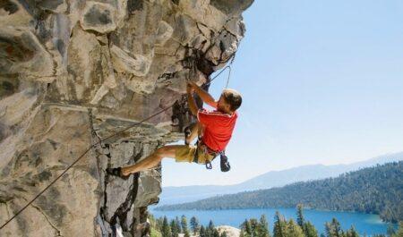 How To Lose Leg Fat - rock climbing