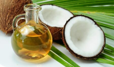 How To Lose Neck Fat - coconut oil